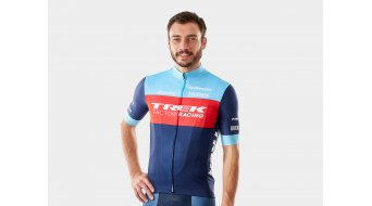 Santini Trek Factory Racing XC Replica jersey short sleeve men dark blue/light blue