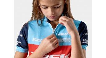 Santini Trek Factory Racing XC Replica Trikot kurzarm Kinder Gr. XS blue