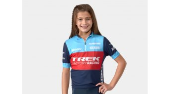 Santini Trek Factory Racing XC Replica jersey short sleeve kids blue