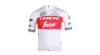 Santini Trek-Segafredo Team Tour de France 2019 Edition Replica Herren Trikot kurzarm white