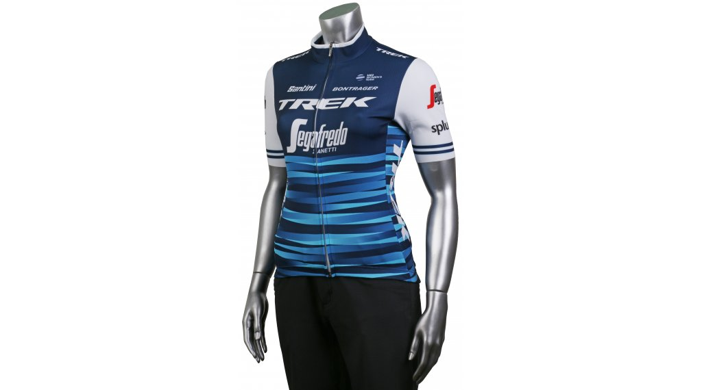 304b64b5b Santini Trek-Segafredo Replica jersey short sleeve ladies