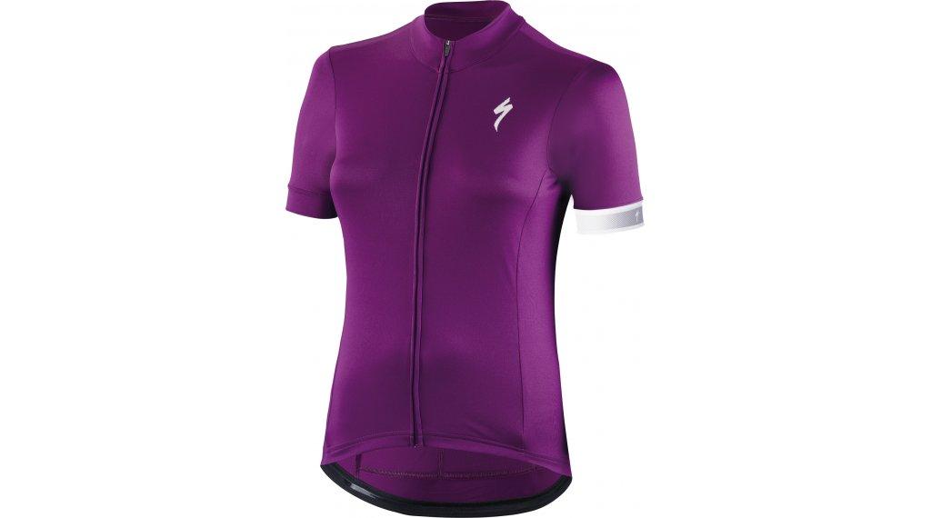Specialized RBX Sport Logo Trikot kurzarm Damen Gr. L violet