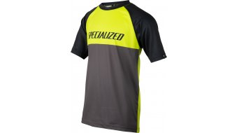 Specialized Enduro Grom Trikot kurzarm Kinder Gr. L hyper green/charcoal block