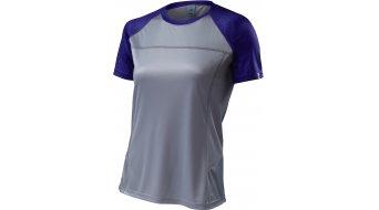 Specialized Andorra Comp maillot de manga corta Señoras-maillot MTB Jersey tamaño XS gris claro/indigo