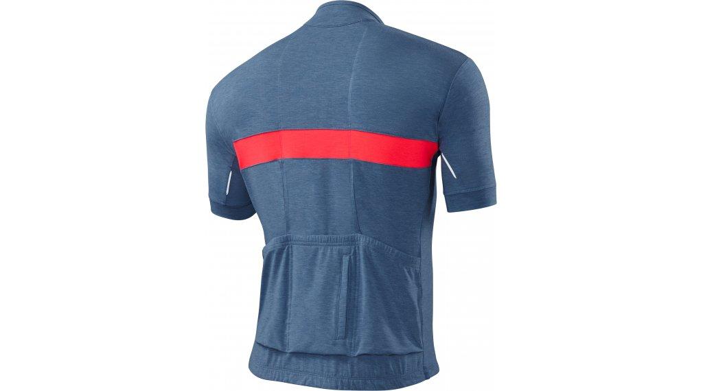 Specialized RBX Drirelease Merino jersey short sleeve men size L dust  blue acid red 2018 862b24791