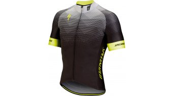 Specialized SL per tricot korte mouw heren black/neon yellow model 2018