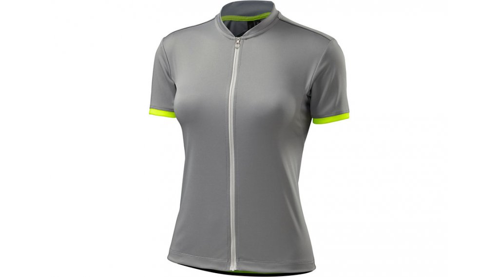 Specialized RBX Sport logo maillot manches courtes femmes taille M light grey/neon Yellow- SAMPLE