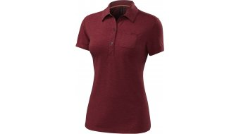 Specialized entility tricot korte mouw dames-tricot Polo- shirt maat. M burgundy heather- SAMPLE
