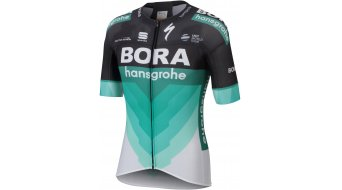 Sportful Bora-Hansgrohe Bodyfit Pro Light jersey shortam men black-BOH green