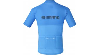 Shimano Junior Team Trikot kurzarm Kinder Gr. L blue