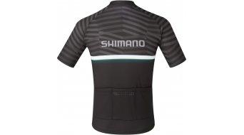 Shimano Junior Team Trikot kurzarm Kinder Gr. L black/green
