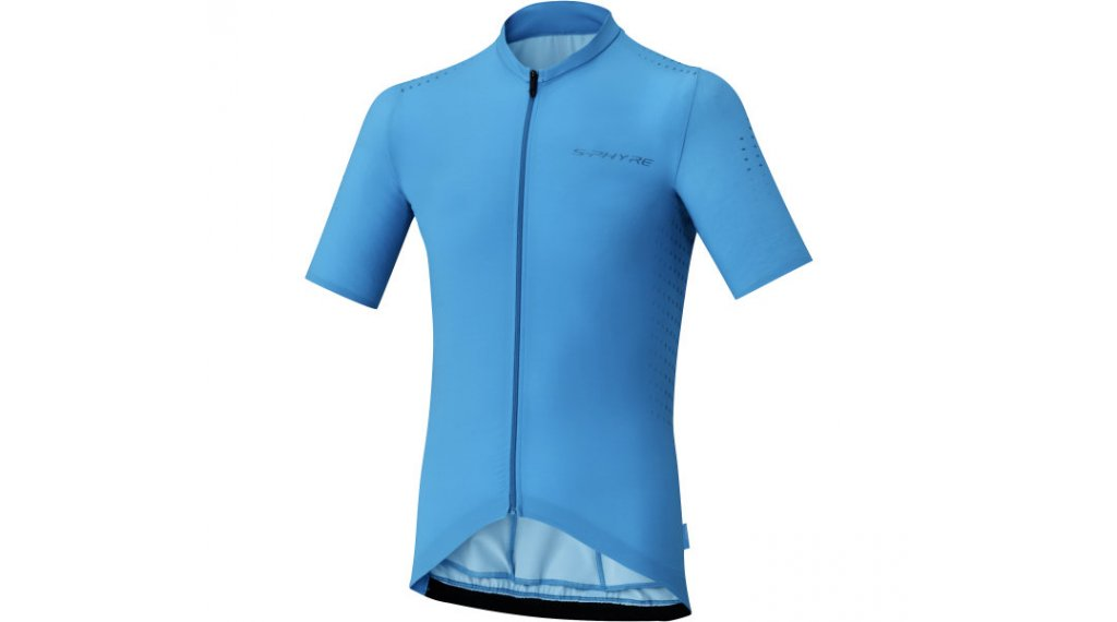 Shimano S-Phyre men jersey short sleeve size M blue
