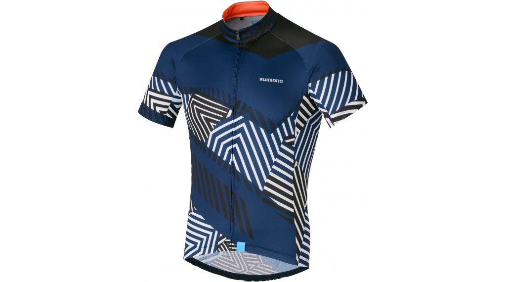 Shimano Climbers jersey short sleeve men size L navy