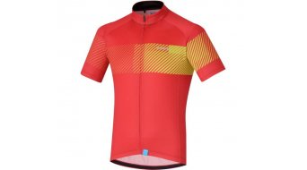 Shimano Climbers men jersey short sleeve size L red