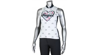 Sugoi I Heart Bikes maillot sin mangas Señoras-maillot Jersey tamaño L blanco