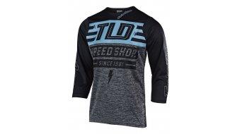 Troy Lee Designs Ruckus Bolt MTB-Trikot Herren 3/4-arm heather gray/blue/black