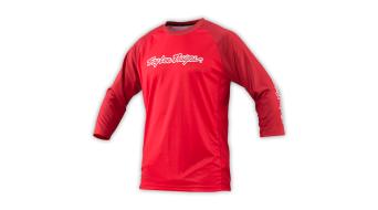 Troy Lee Design s Ruckus maglietta 3/4-lungo uomini- maglietta mis. L fire red mod. 2016