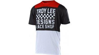 Troy Lee Designs Skyline MTB-Trikot kurzarm Kinder Gr. SM checker white/black