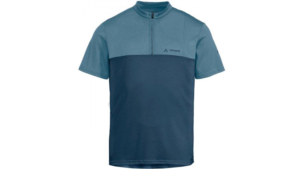 VAUDE Tremalzo V 领骑服 短袖 男士 型号 XS blue gray