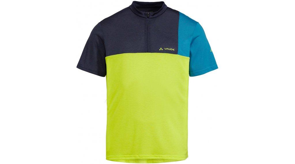 VAUDE Tremalzo V 领骑服 短袖 男士 型号 XS bright green
