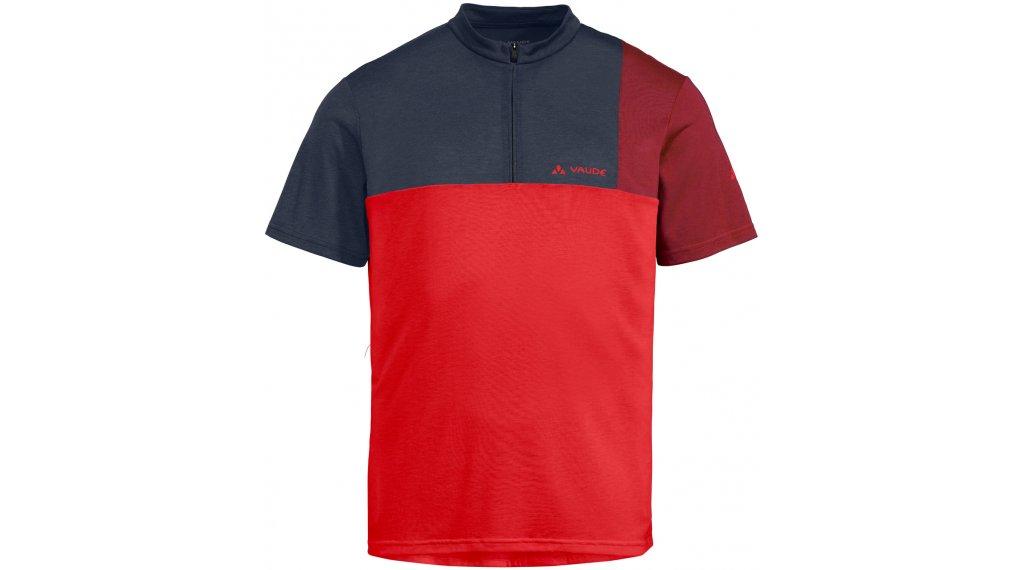VAUDE Tremalzo V 领骑服 短袖 男士 型号 XS mars red