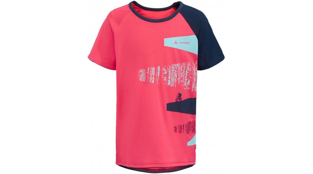 VAUDE Moab Trikot kurzarm Kinder Gr. 146/152 bright pink