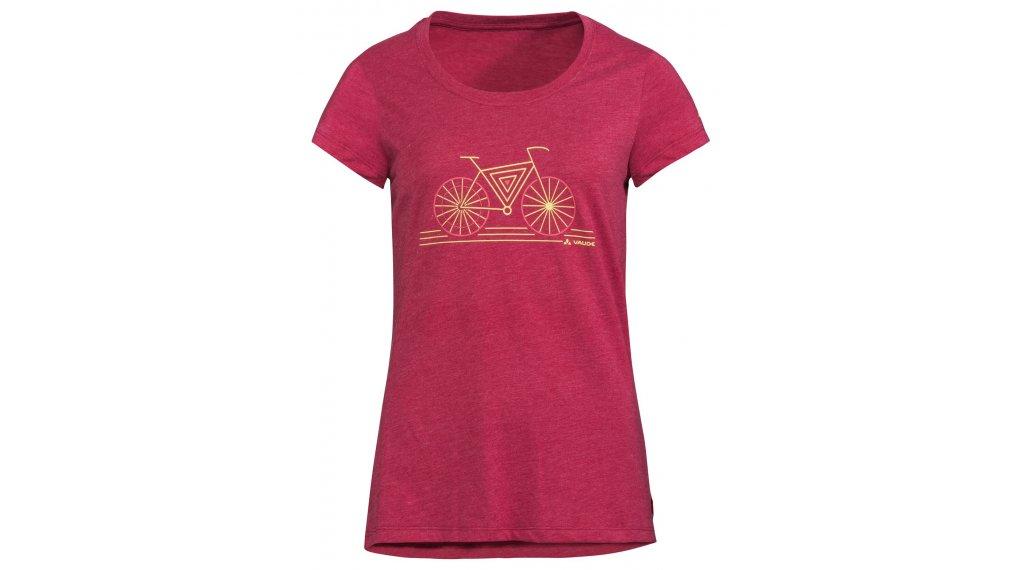 VAUDE Cyclist IV Trikot kurzarm Damen Gr. 36 crimson red