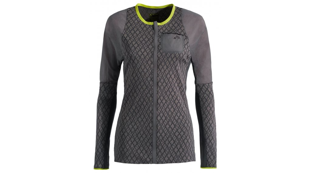 VAUDE Green Core maillot manches longues femmes taille 36 moondust