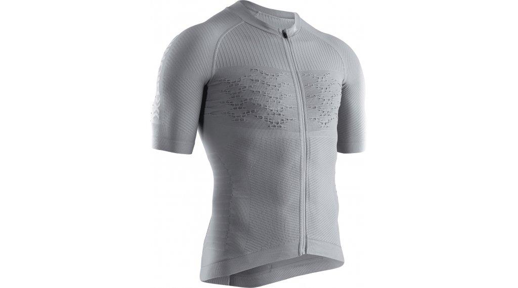X-Bionic Effektor G2 Bike Zip Shirt Gr. XL dolomite grey/arctic white