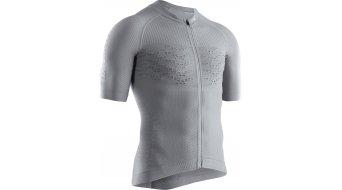 X-Bionic Effektor G2 Bike Zip Shirt dolomite grey/arctic white