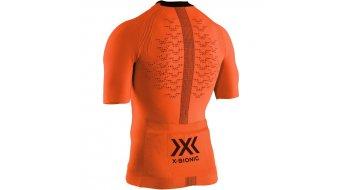 X-Bionic The Trick G2 Bike Zip Shirt Gr. XL trick orange/arctic white