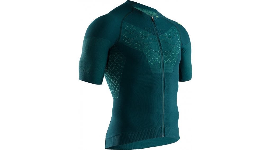 X-Bionic Twyce G2 Bike Zip Shirt kurz Gr. M pine green/amazonas green
