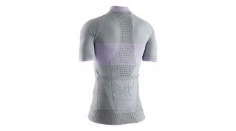 X-Bionix Regulator Bike Race Zip Shirt Damen Gr. L dolomite grey/magnolia purple