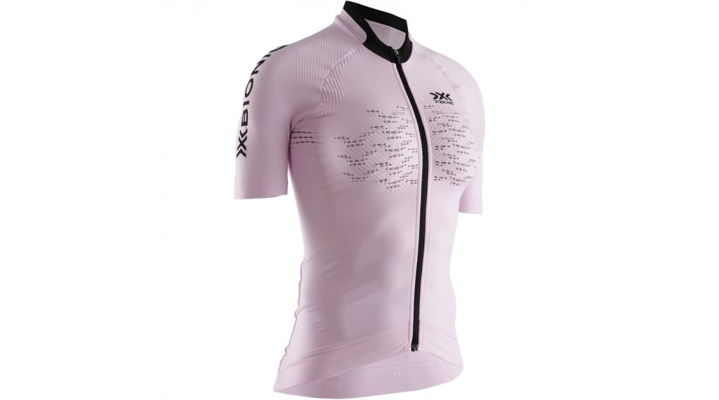 X-Bionic The Trick G2 Bike Zip Shirt Damen Gr. L magnolia purple/opal black