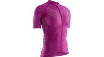 X-Bionic Twyce G2 Bike Zip Shirt kurz Damen Gr. M twyce purple/arctic white