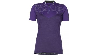Zimtstern Violez jersey short sleeve ladies- jersey bike Jersey size M purple- DISPLAY ITEM without sichtbare Män gel