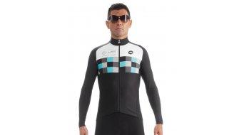 Assos LS.worksteamJersey evo8 maillot manga larga Caballeros-maillot FF1Green