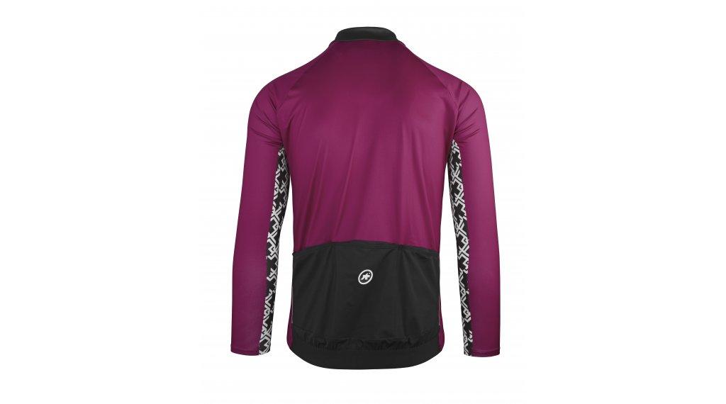 Assos Mille GT LS Summer jersey long sleeve men size L midnightPurple 5f85d1f54