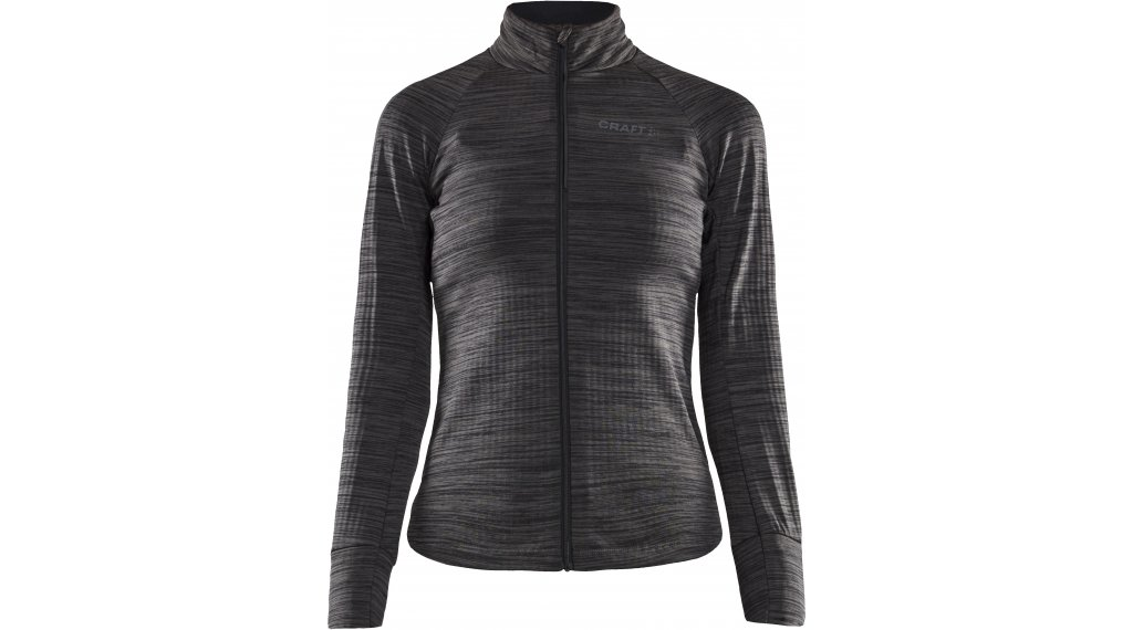 Craft Ideal Thermal jersey long sleeve ladies size M black/melange- MUSTERcollection