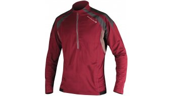 Endura Hummvee jersey long sleeve men- jersey MTB burgundy