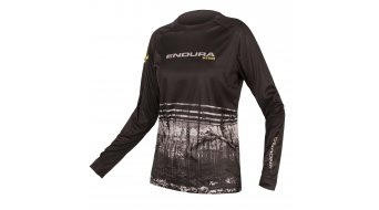 Endura MT500 Print II MTB- jersey long sleeve ladies black