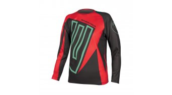 Endura MT500 Junior MTB-Kinder-Trikot langarm rot