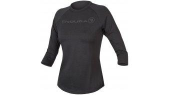 Endura Womens One Clan Raglan jersey long sleeve ladies size XS Grey