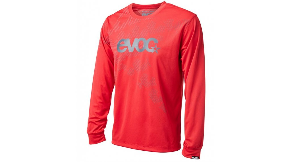 EVOC LS jersey long sleeve size S red 2017
