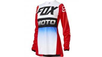 Fox 180 Fyce MX-Trikot langarm Damen Gr. L blue/red