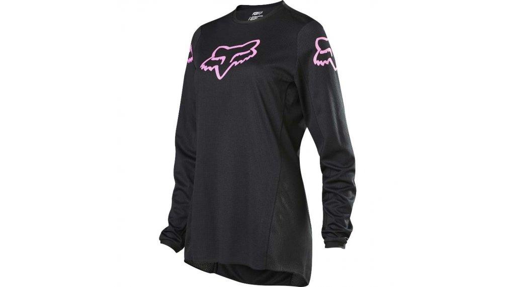 Fox 180 Prix MX-领骑服 长袖 女士 型号 XS black/粉色