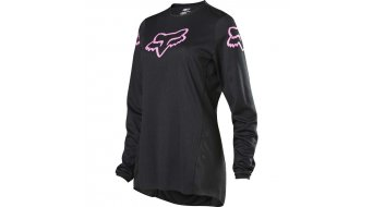 Fox 180 Prix MX-Trikot langarm Damen black/pink