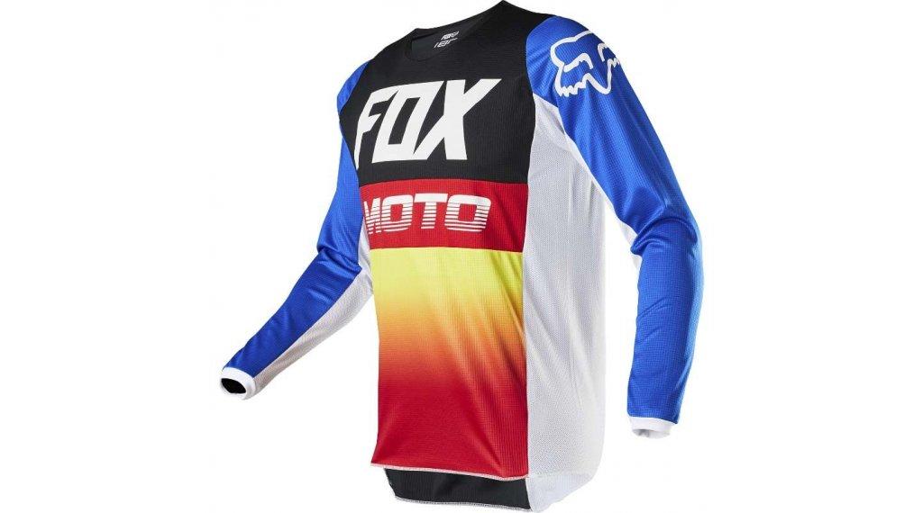 Fox 180 Fyce MX-Trikot langarm Kinder Gr. S blue/red