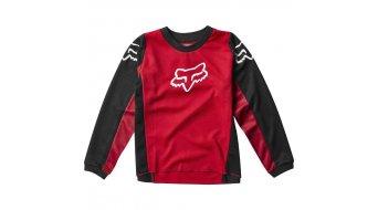 Fox 180 Prix MX-Trikot langarm Kinder flaming red