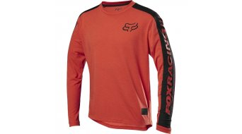 Fox Ranger DR MTB-Trikot langarm Kinder Gr. M orange crash